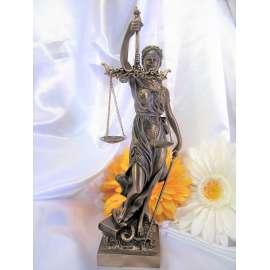 JUSTICIA-NICOLAS MAYER-TEMIS-VERONESE BRONCE