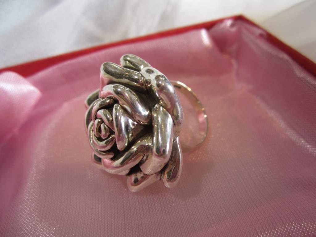 Anillos de plata rosa