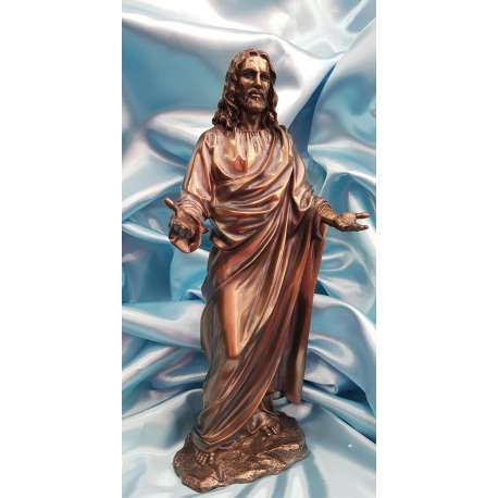 LA BENDICION DE JESUCRISTO-VERONESE RELIGIOSO BRONCE